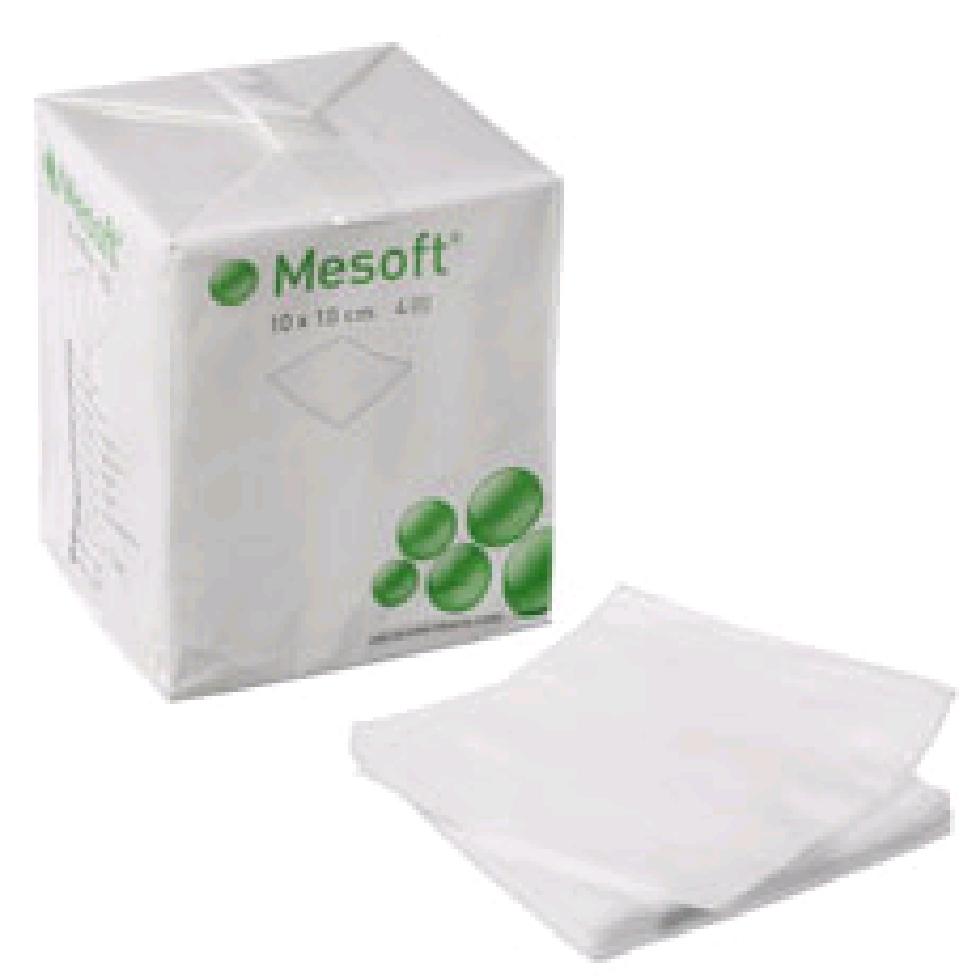 Mesoft non-woven, kompres, brev a 2 stk., steril