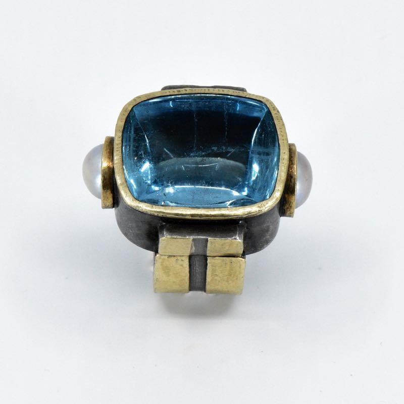 Ring | Aquamarin | Michael Kunze