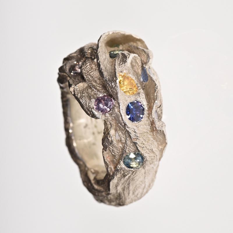 Ring   Seide & Saphire   Anina Caracas
