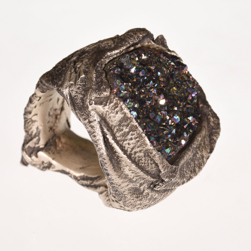 Ring | Quarz in Seide | Anina Caracas