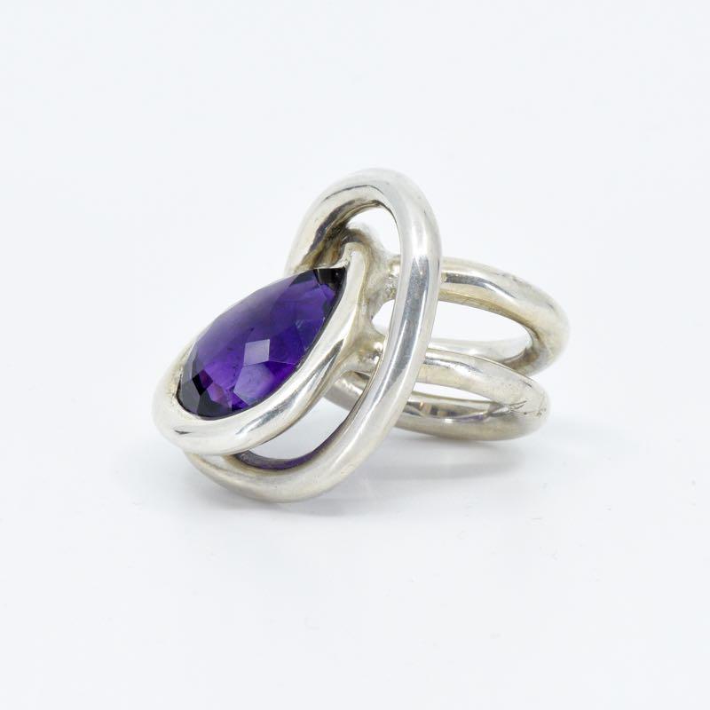 Ring | Amethyst & Silber  | Anina Caracas