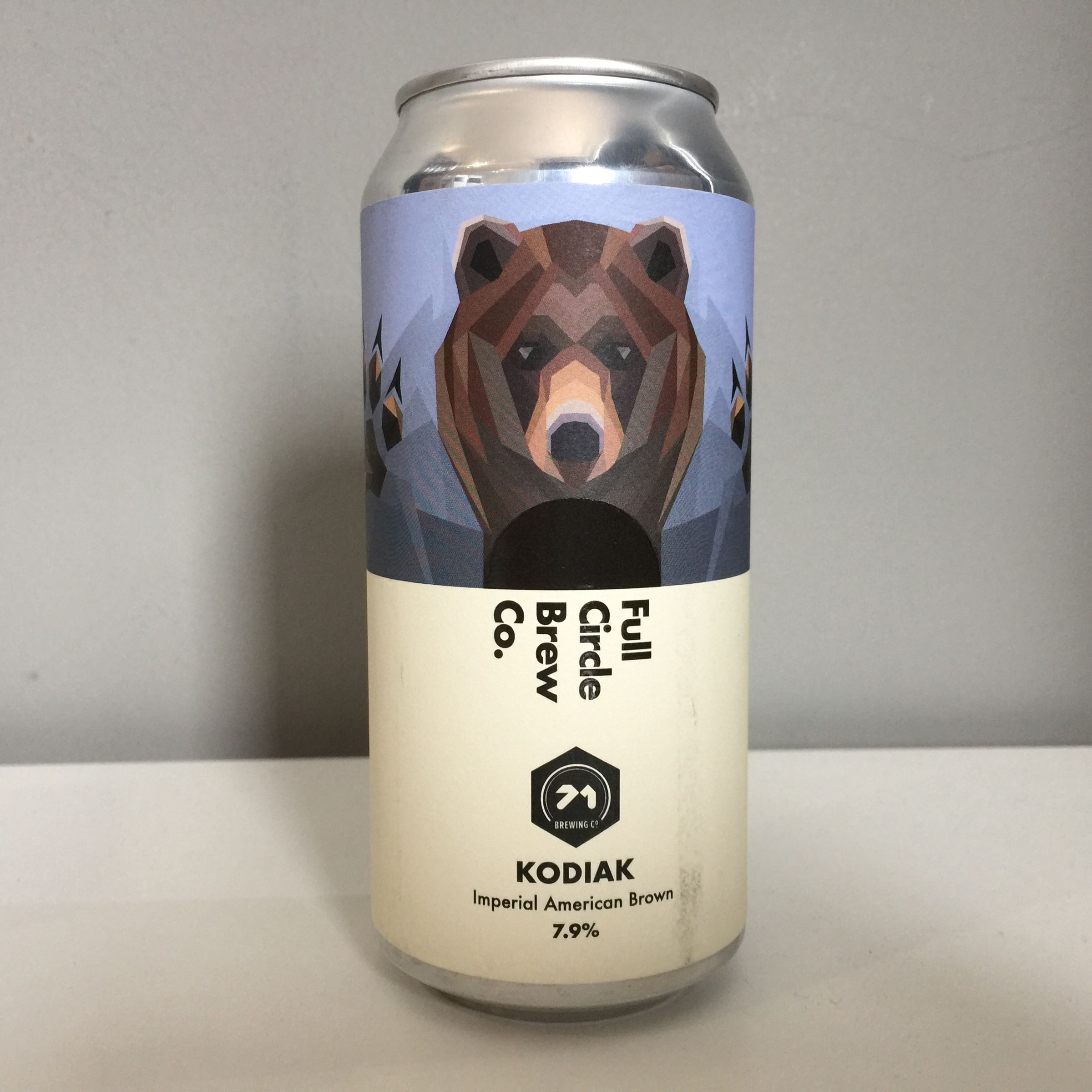 Full Circle Brewing Co. 'Kodiak' Imperial American Brown 440ml 7.9% ABV