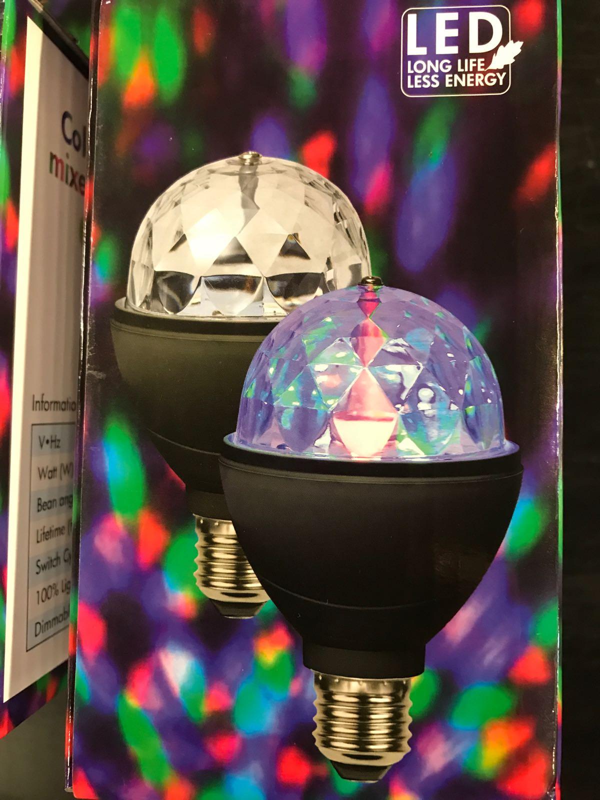 Disco Ledlampa Roterande