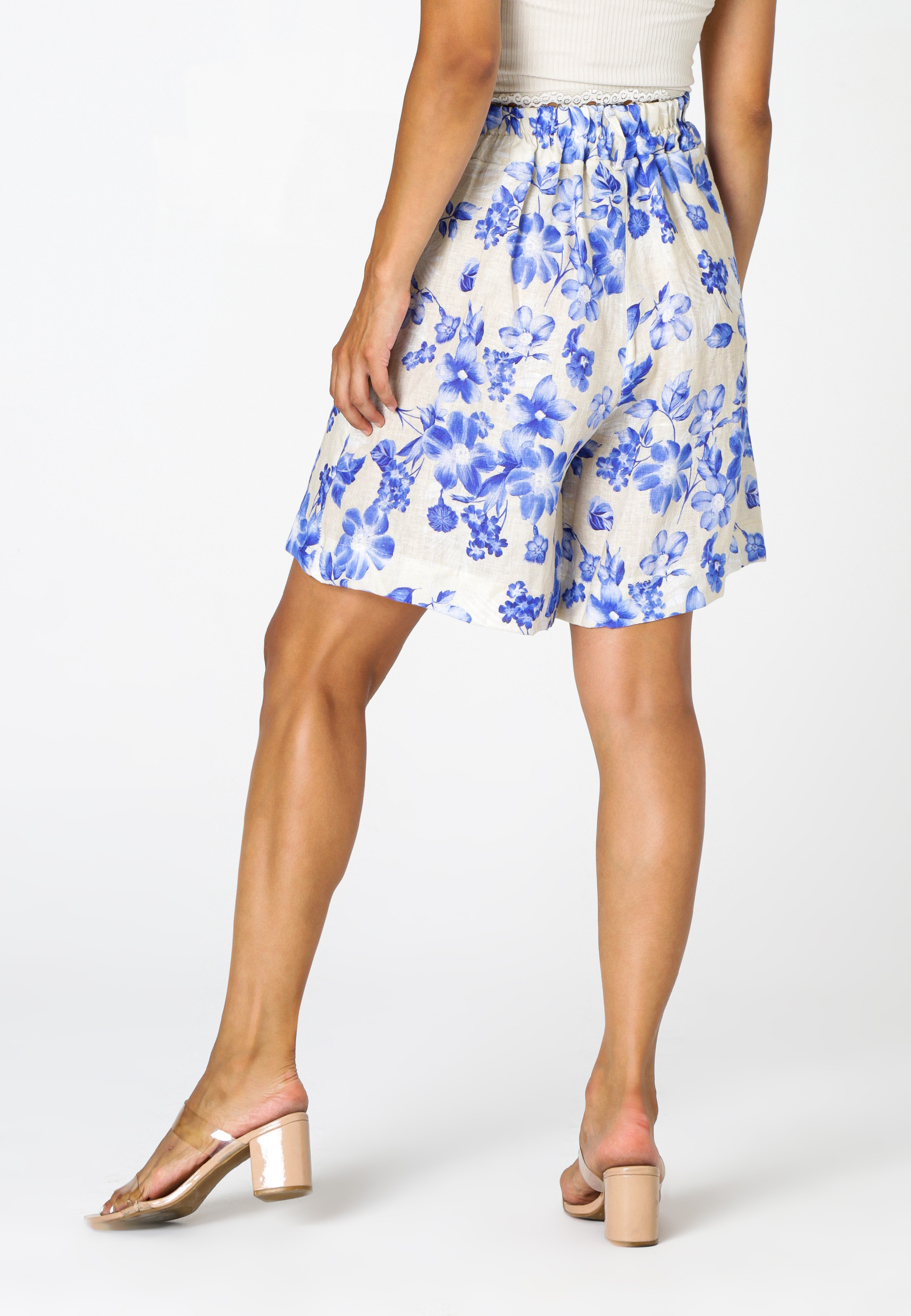 MiaZAYA Shorts Blumen