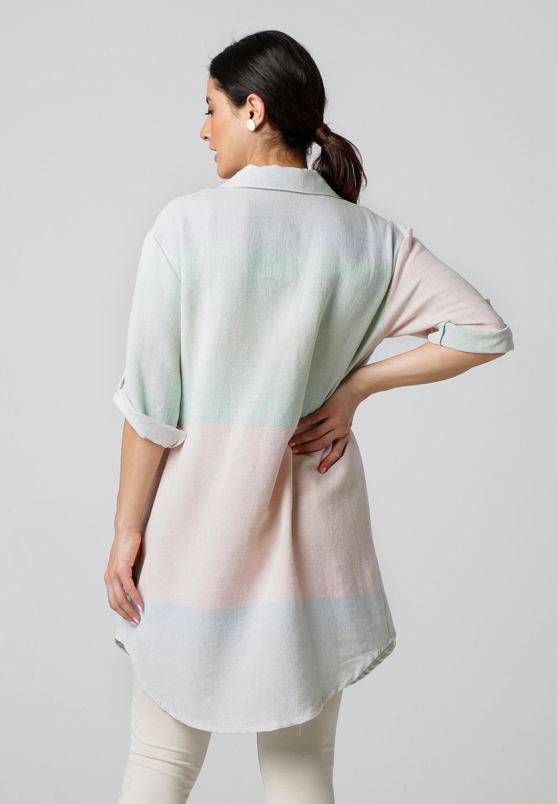 MiaZAYA Baumwollhemd Oversize