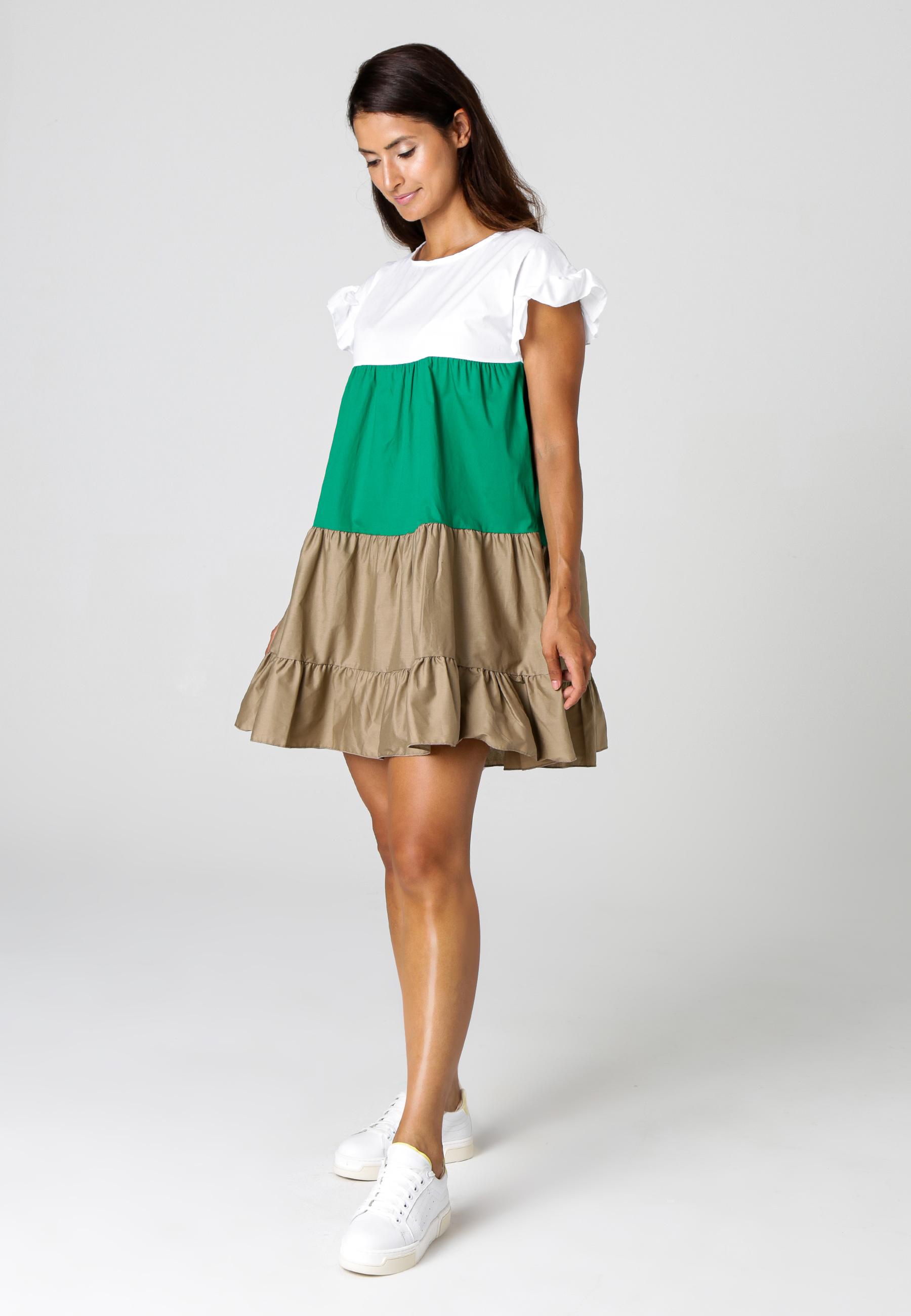 MiaZAYA Kleid Tricolore