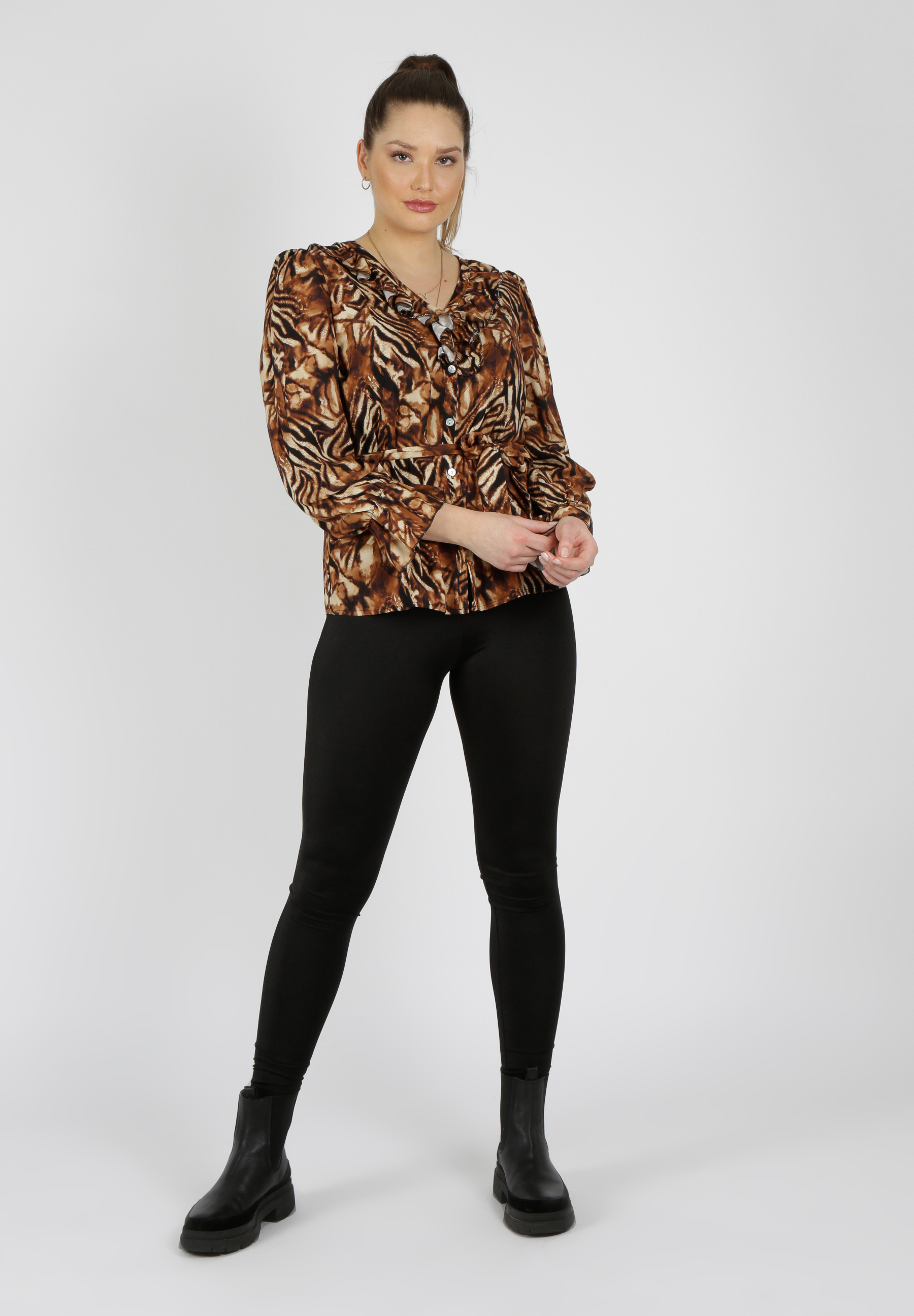 MiaZAYA Tiger Bluse