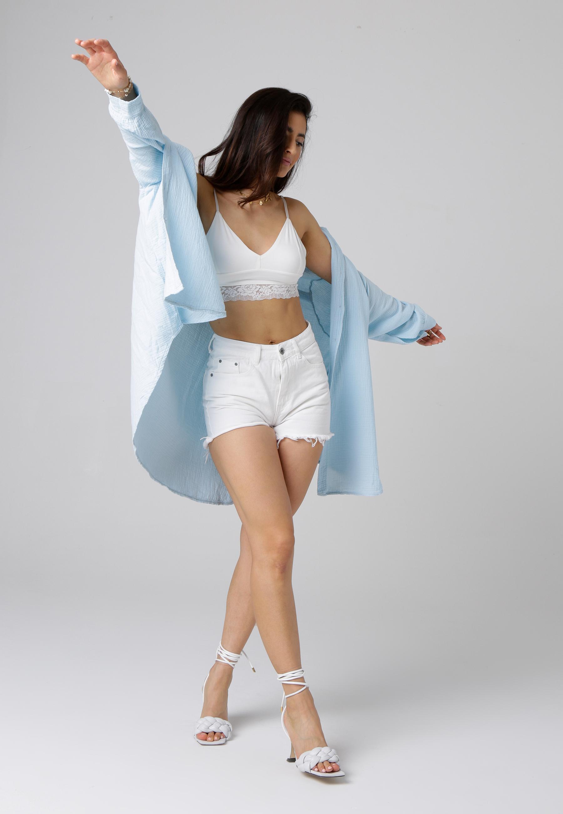 MiaZAYA Oversize Bluse