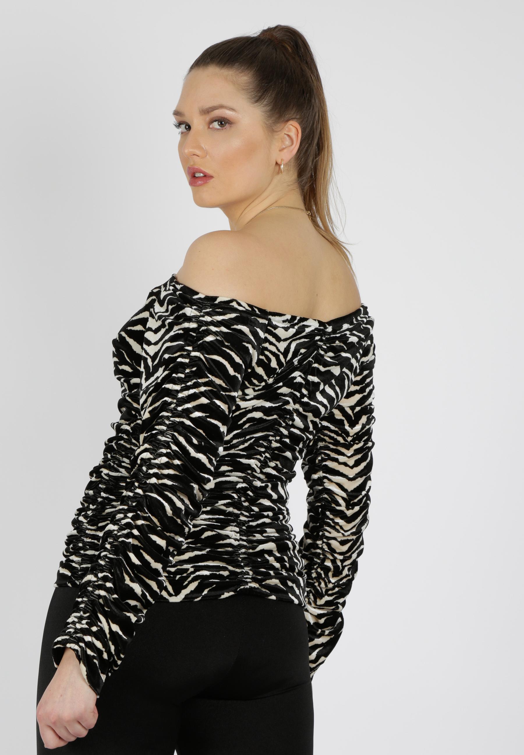 MiaZAYA Zebra Longshirt