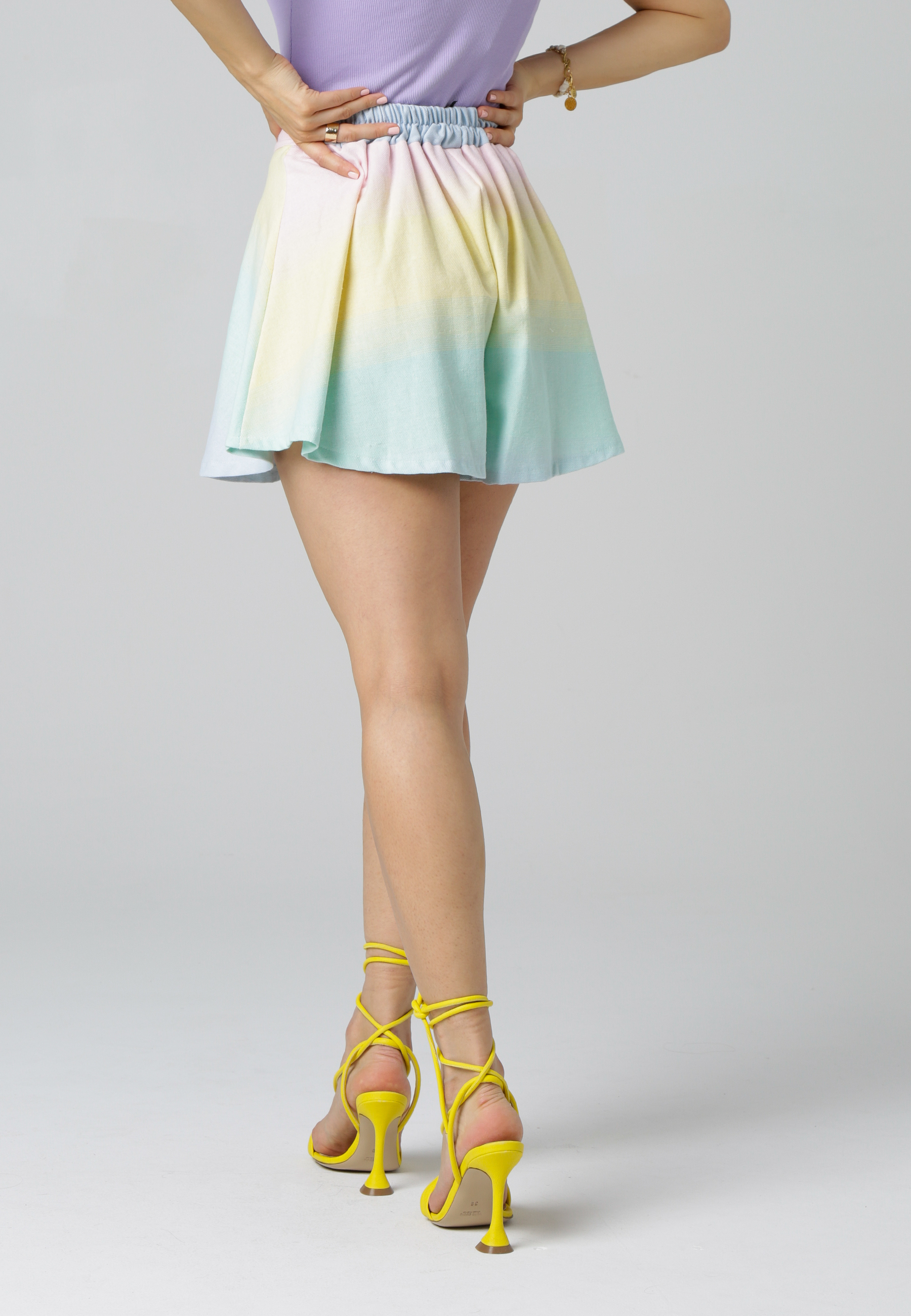 MiaZAYA Rainbow Shorts