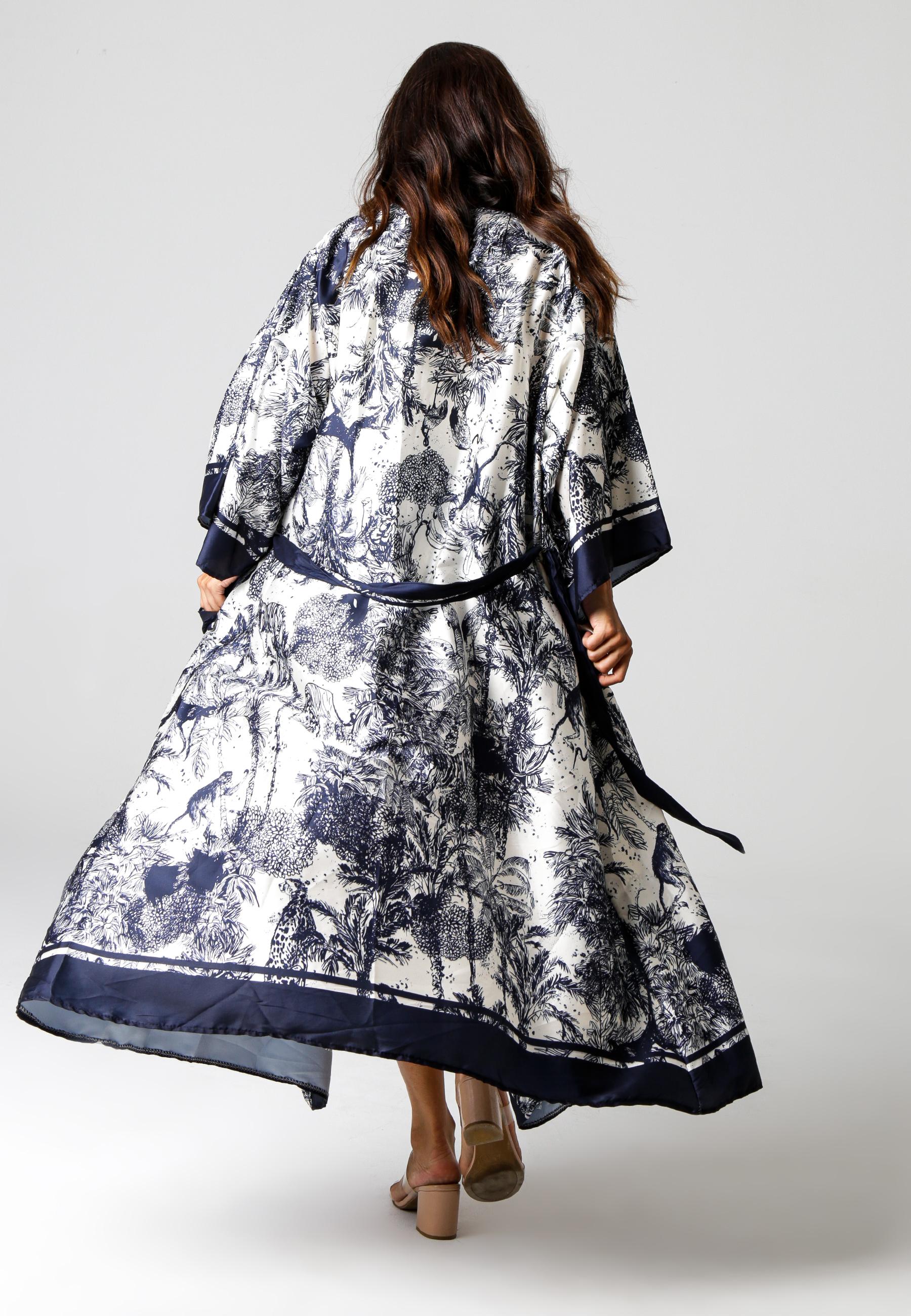 MiaZAYA Kimono Jungle