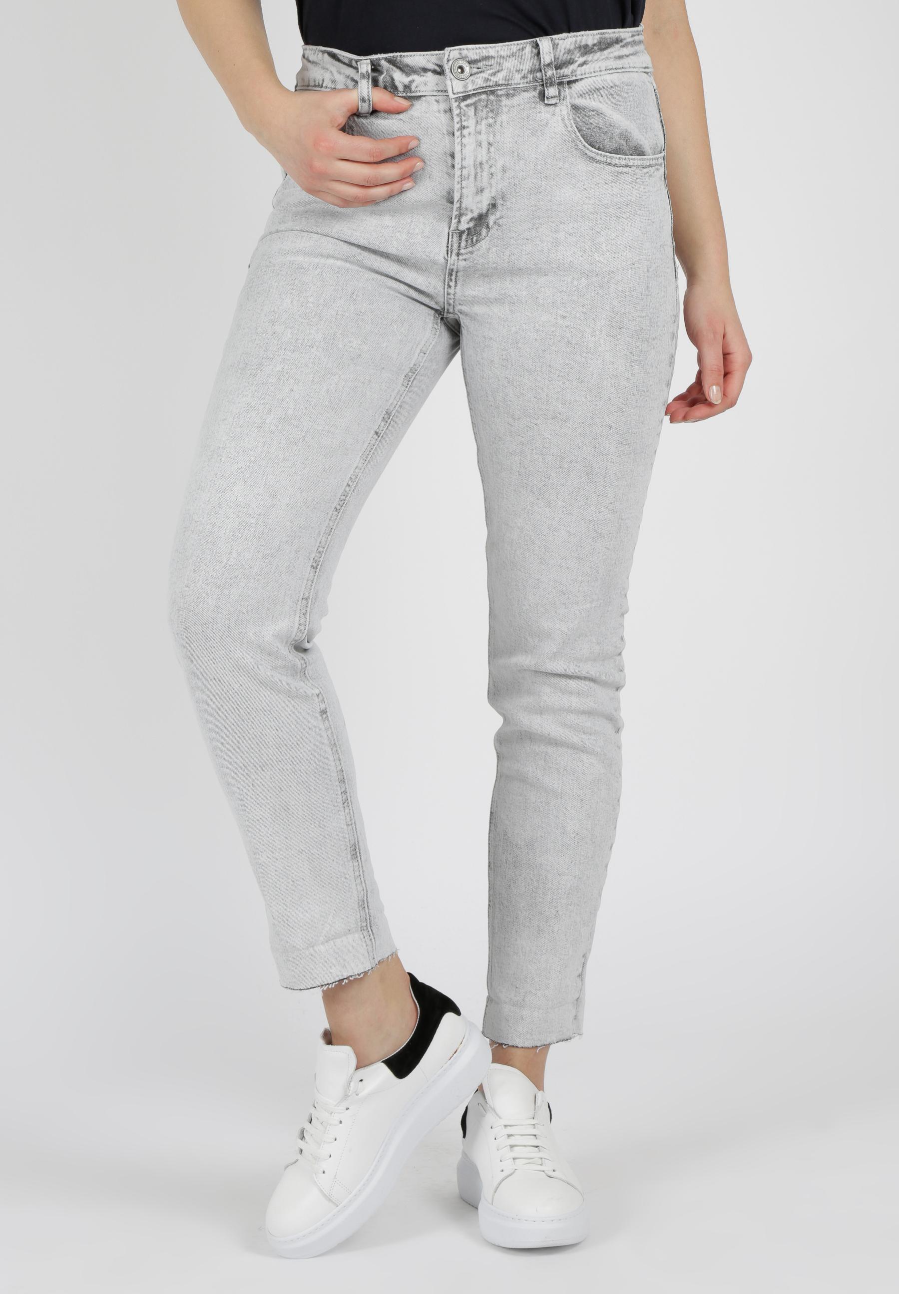 MiaZAYA 80's grey washed Jeans