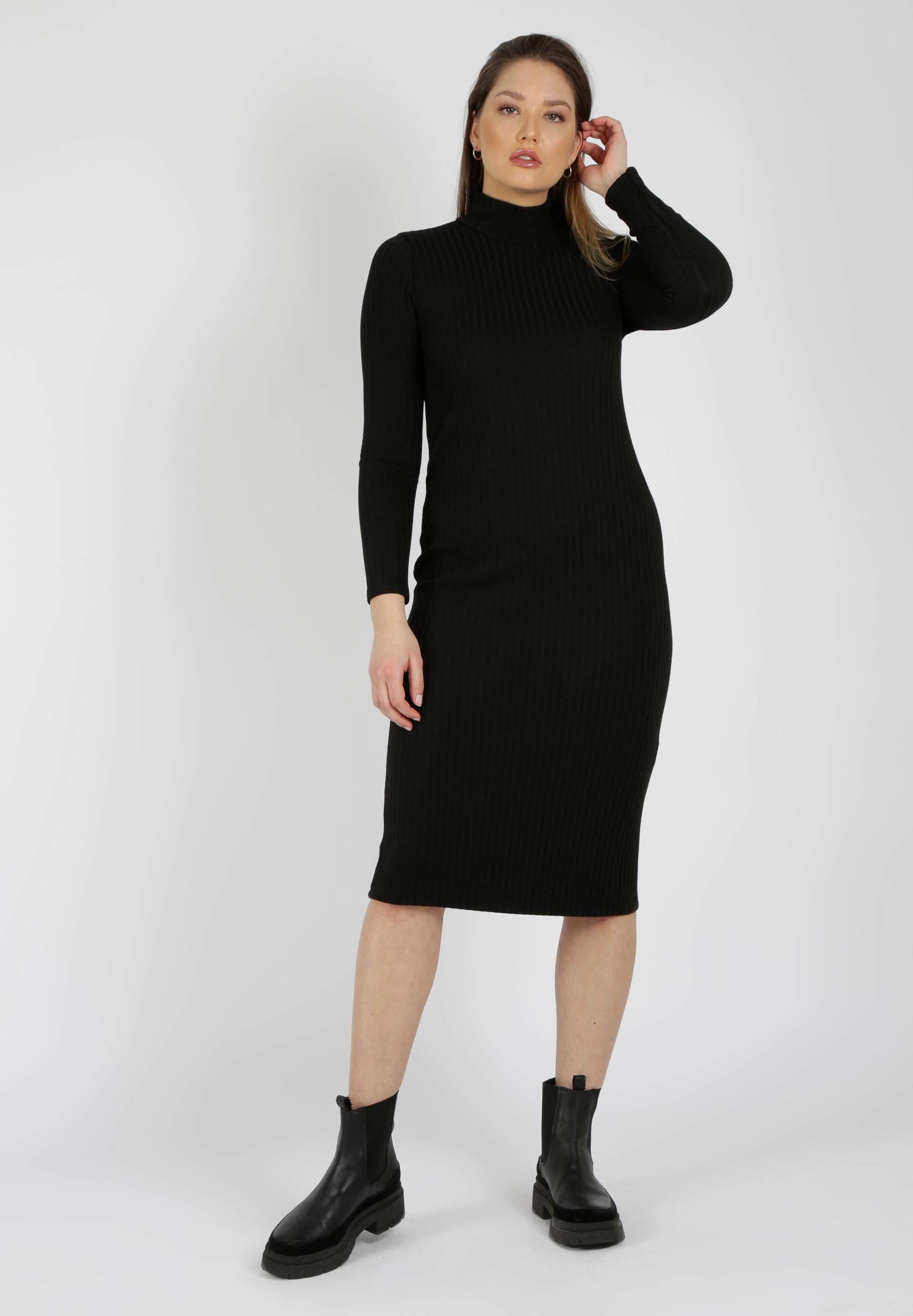 MiaZAYA Rollkragen Kleid