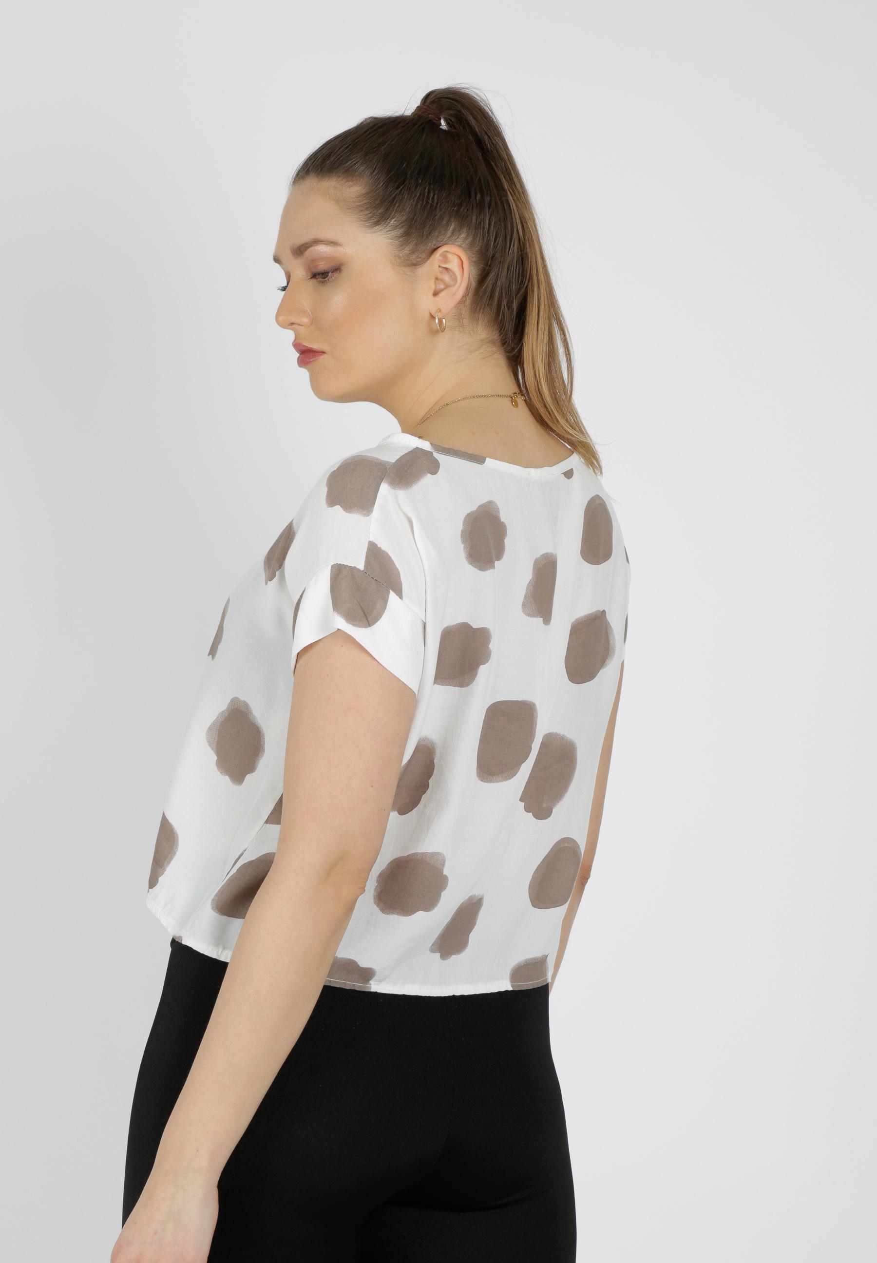MiaZAYA Shirt mit Punkten