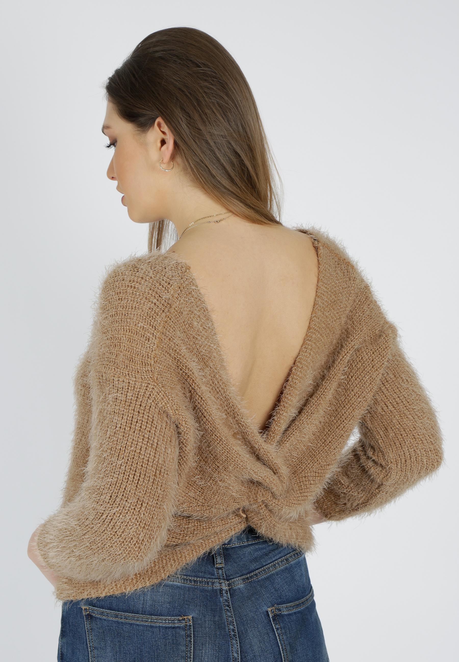 MiaZAYA Knoten Pullover
