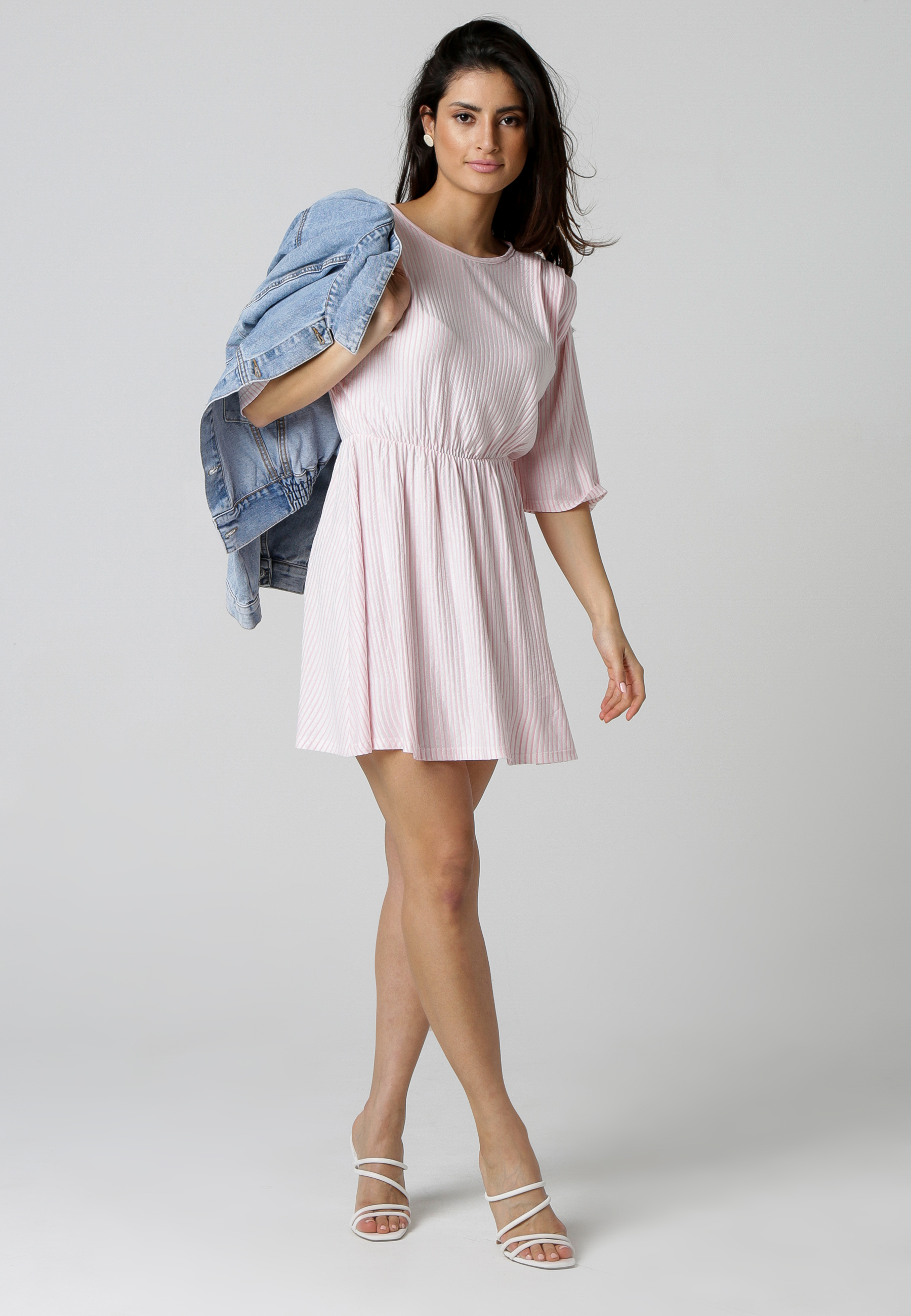 MiaZAYA Kleid Streifen