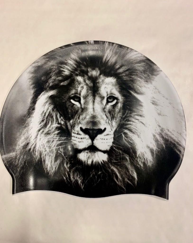 Svømmehette Løve