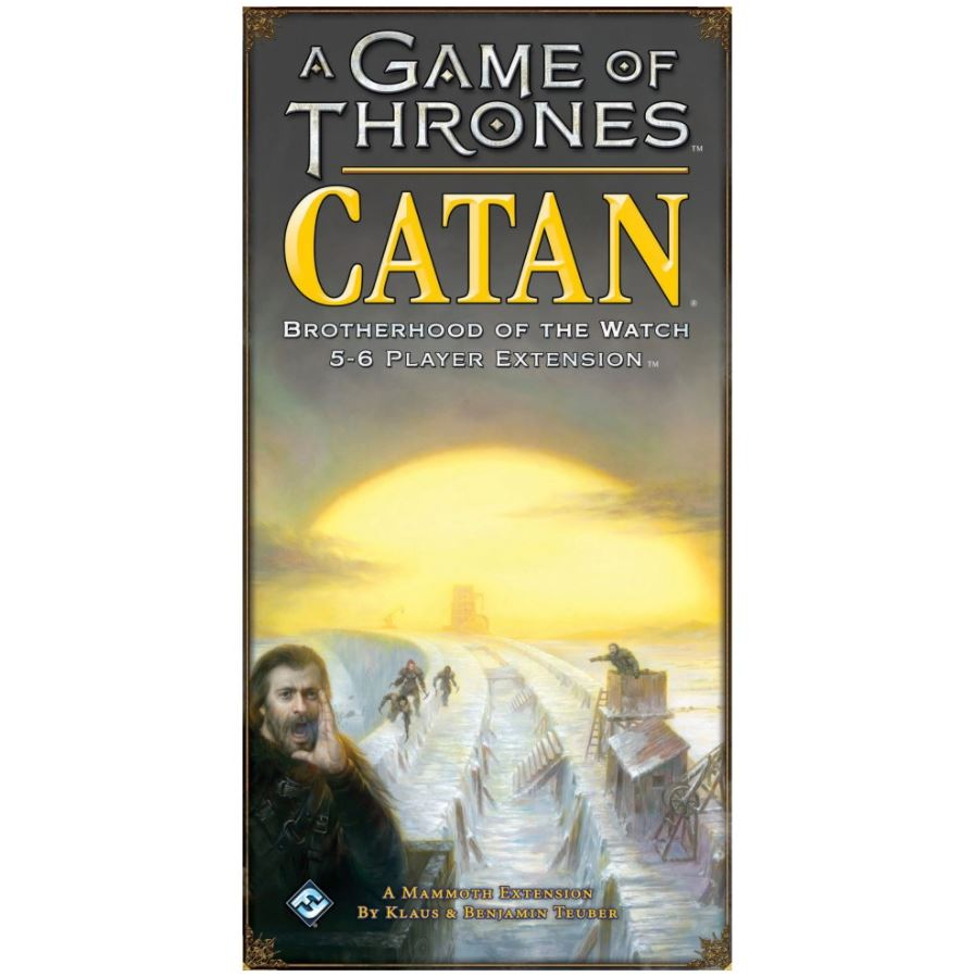 A Game of Thrones: Catan Brotherhood of the Watch 5-6 players Exp.
