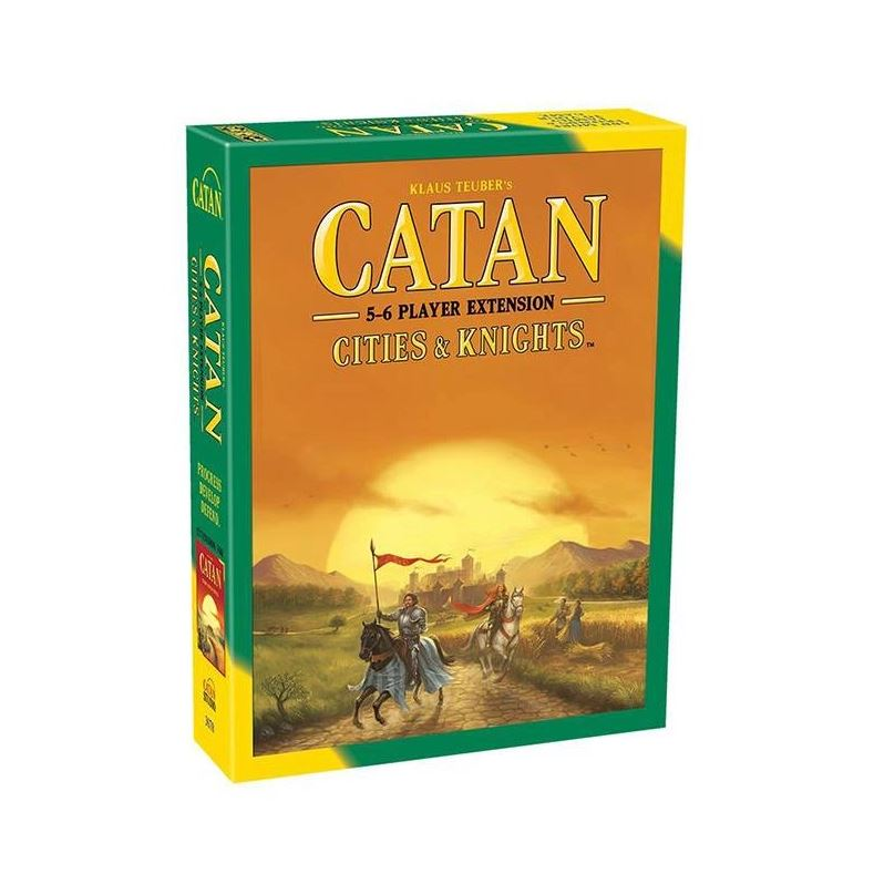 Catan Cities&Knights 5-6 players Exp. ENG