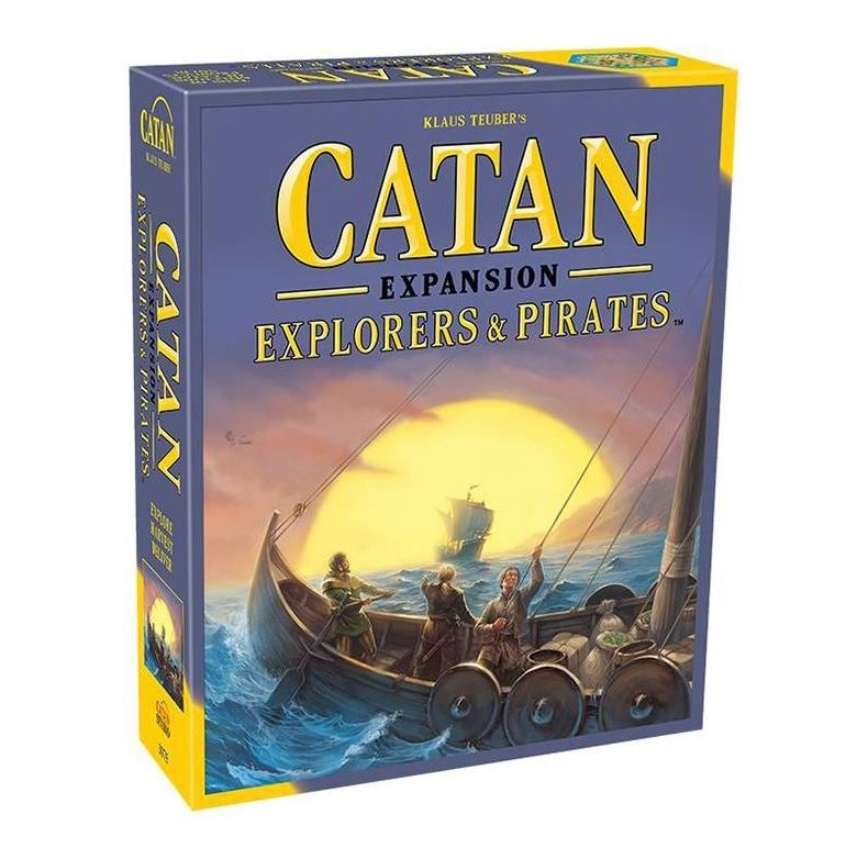 Catan Explorers&Pirates Exp. ENG