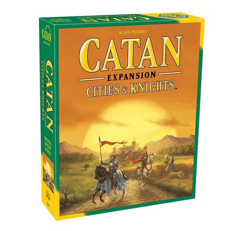 Catan Cities&Knights Exp. ENG