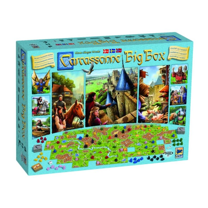 Carcassonne Big Box SV