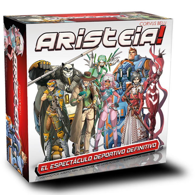 Aristeia! Core box Collector Ed