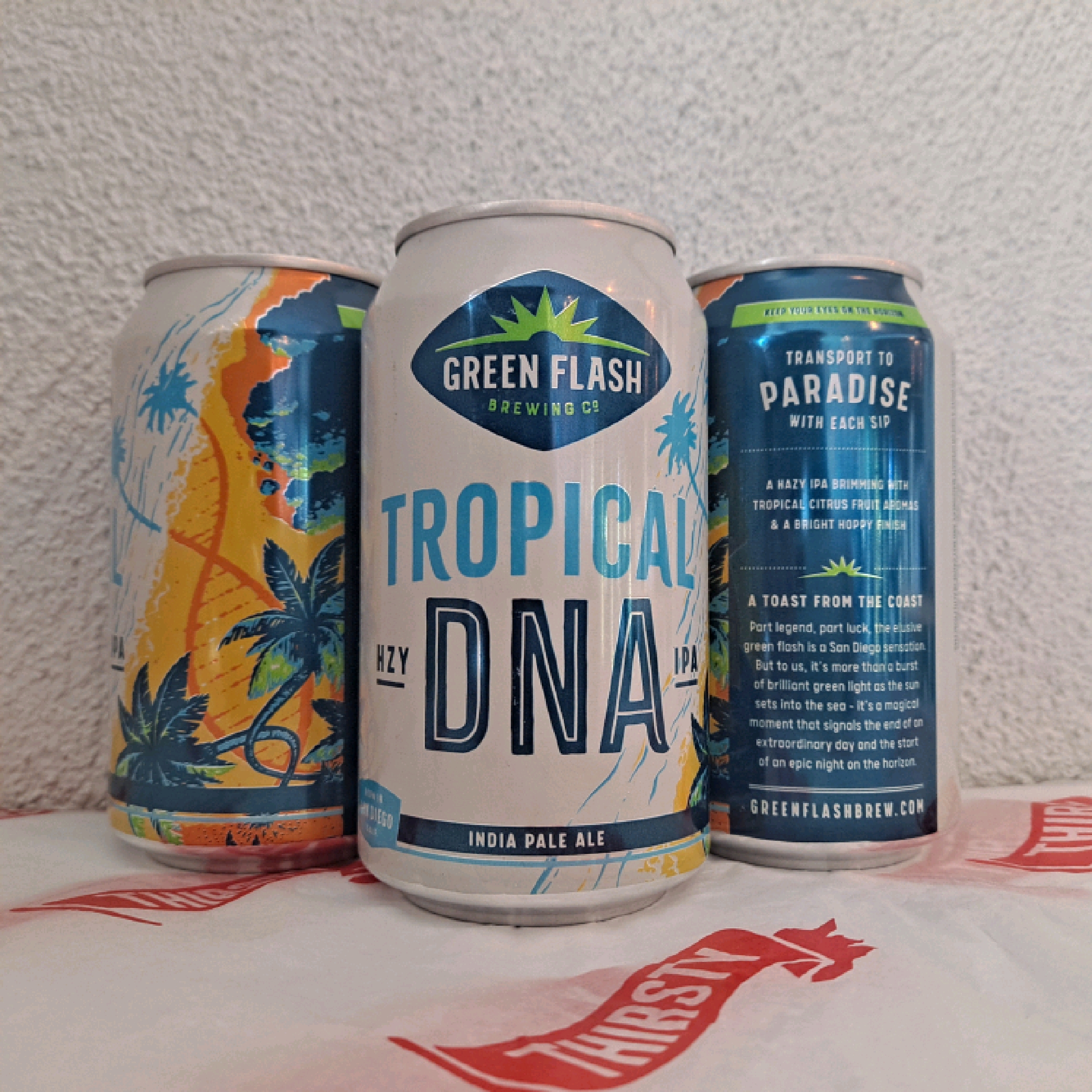 Green Flash | Tropical DNA | Hazy IPA 7% 355ml