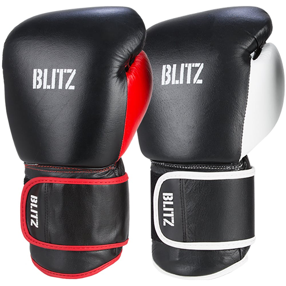 Adult Buffalo Leather Trim Boxing Gloves