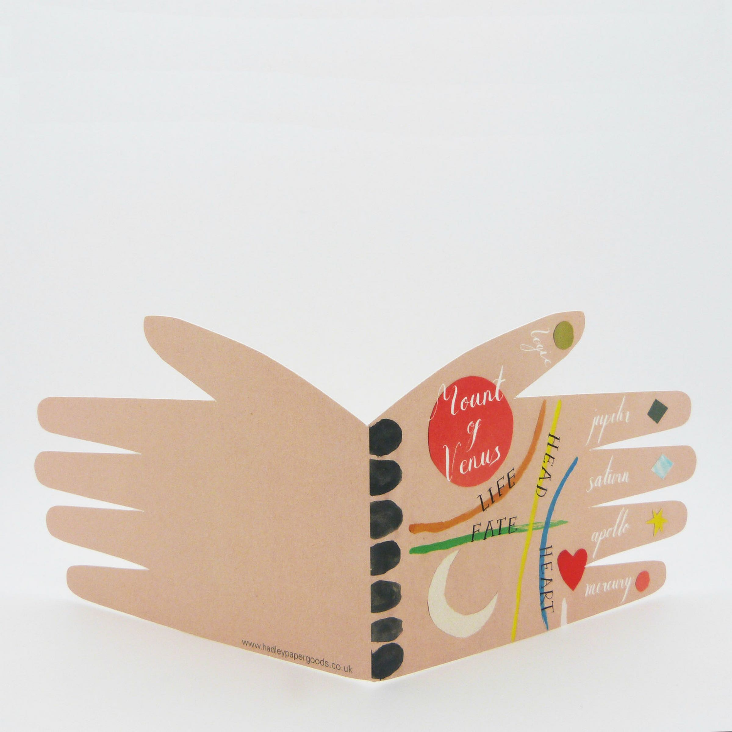 Palm Reading card by Hadley Paper Goods