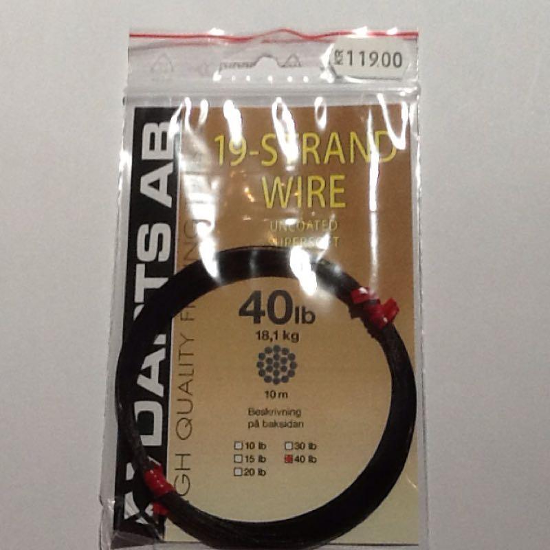 Darts 19-strand wire 40lb