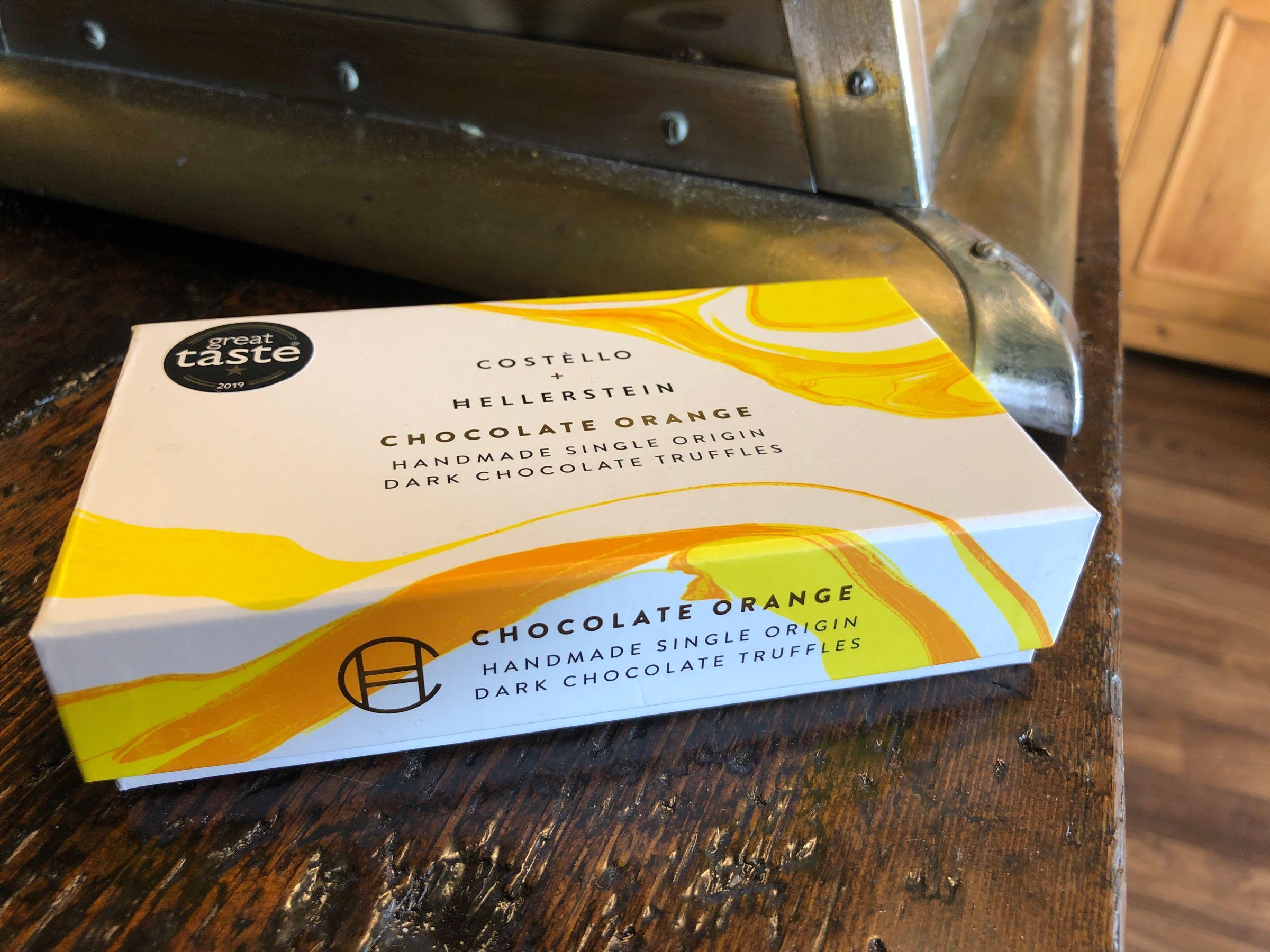 Costello + Hellerstein Dark Chocolate Orange Chocolate Truffles