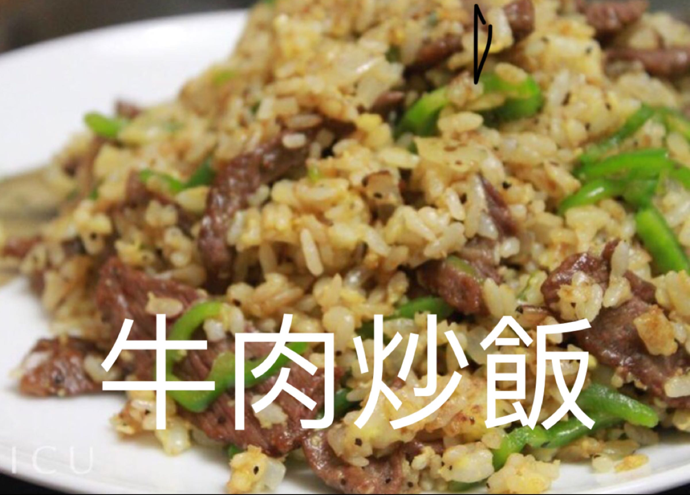 牛肉炒飯 Beef Fried Rice