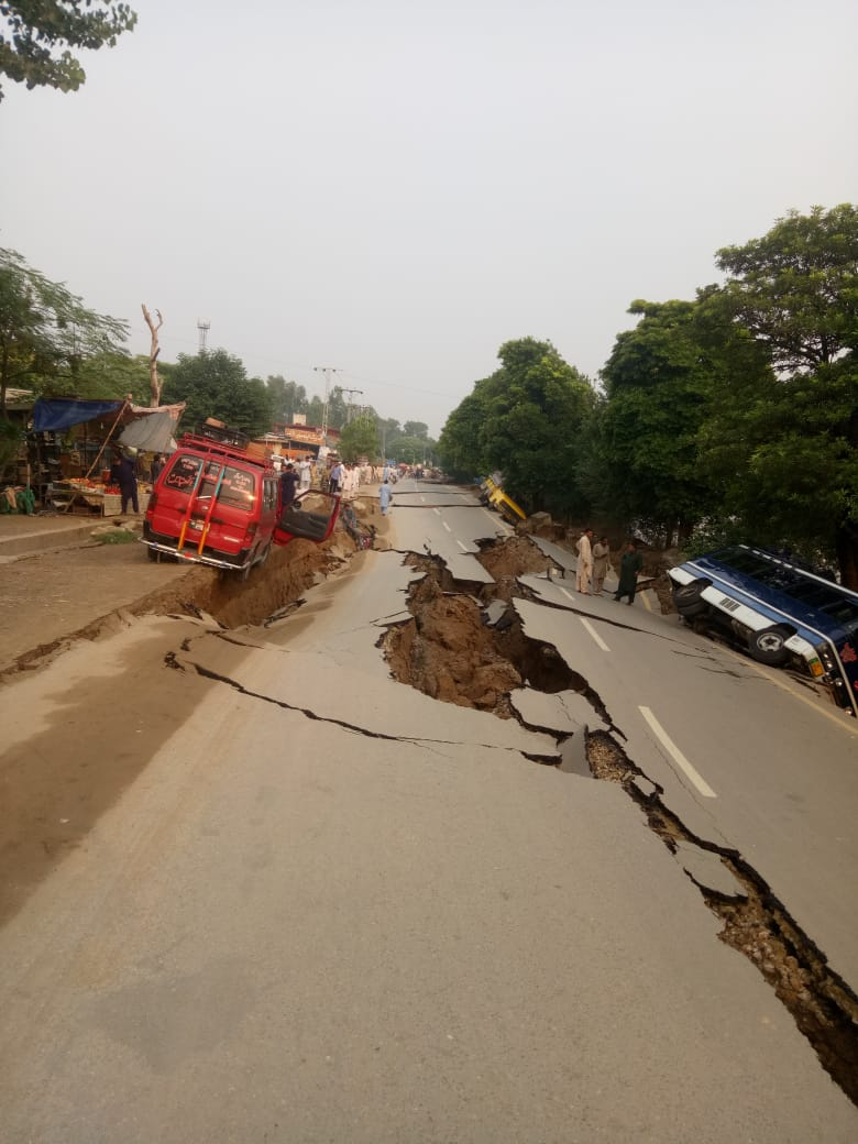 Jordskælv i Pakistan
