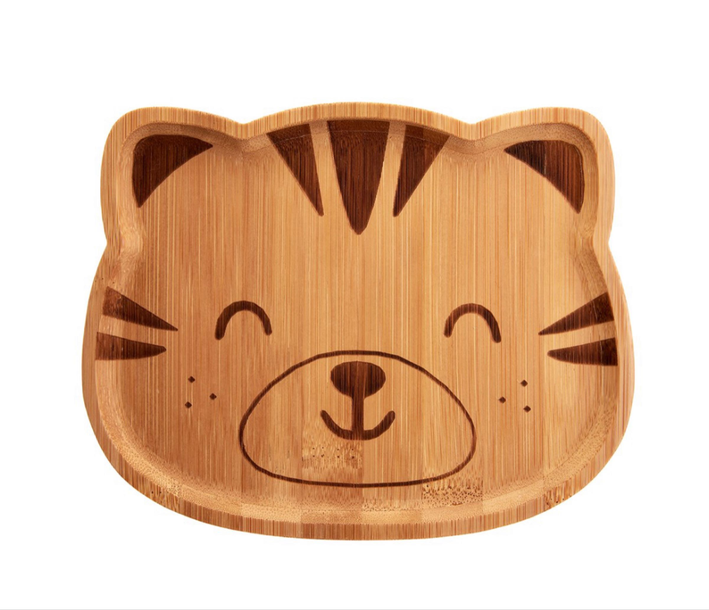 Bamboo Tiger Plate
