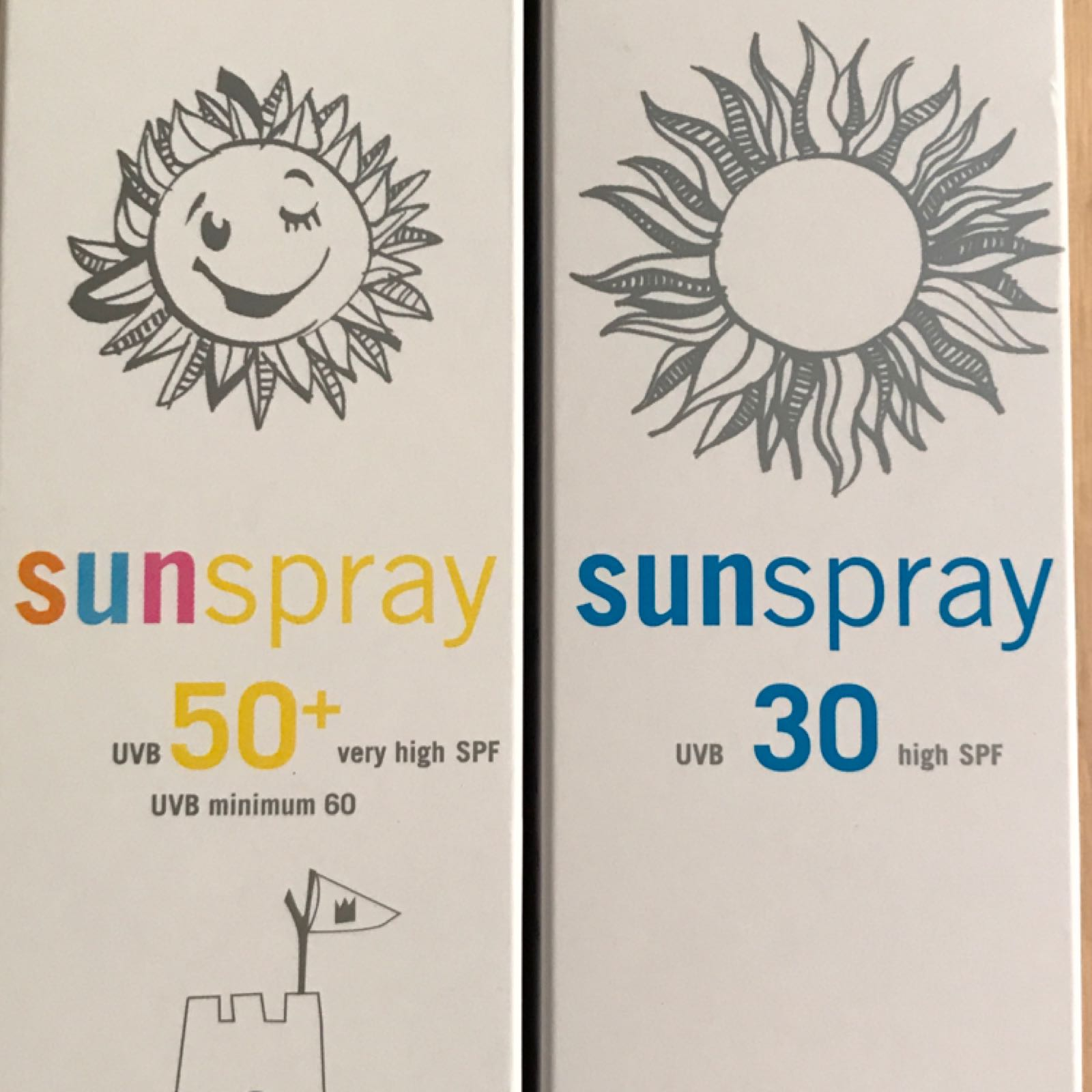 Sunspray eco cosmetics spf 50