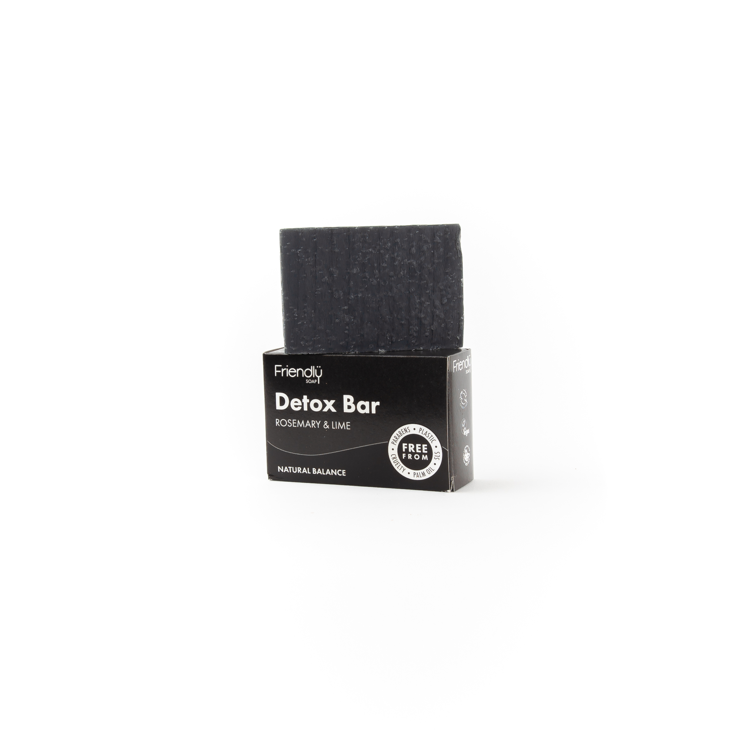 Detox Bar with Activated Charcoal | Friendly Soap