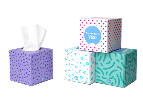 Tissue Box | Who Gives A Crap
