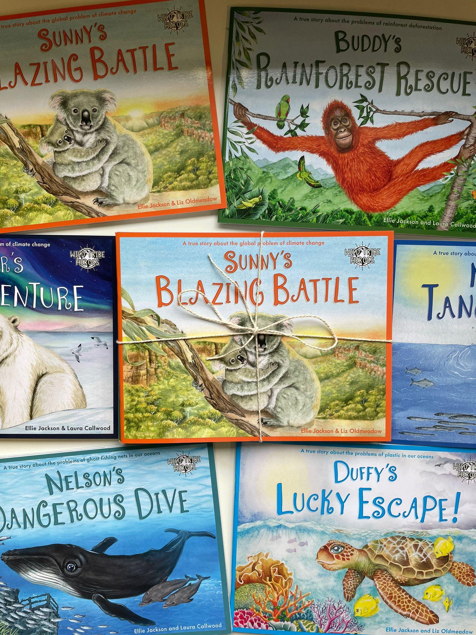 Children's Book Bundle   Wild Tribe