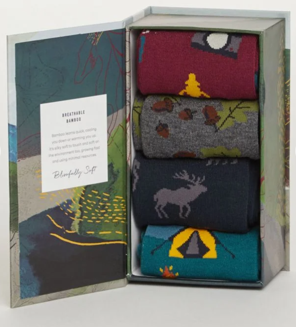 Camper Bamboo Socks Gift Box | Thought Clothing