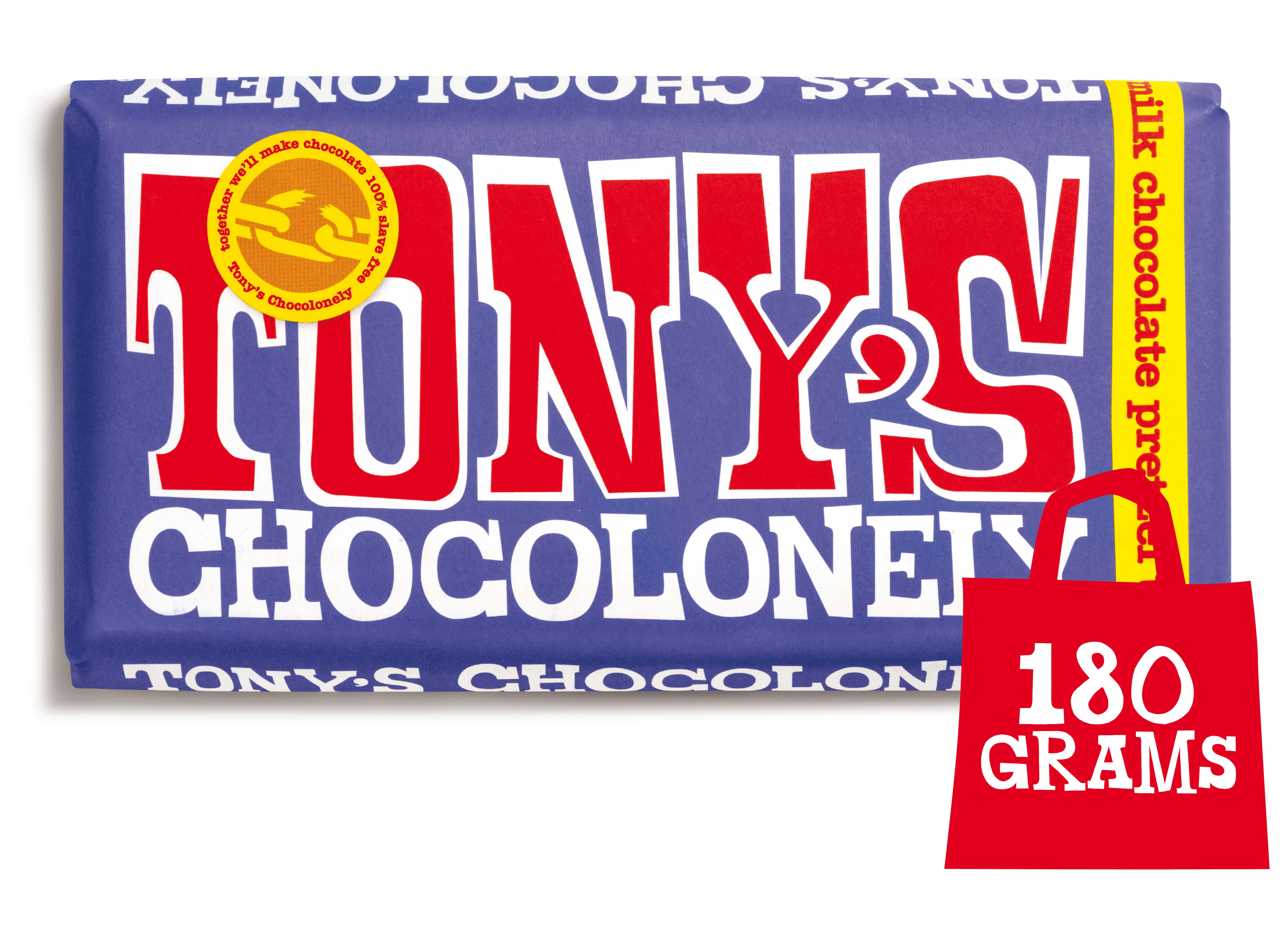 Dark Milk Pretzel Toffee 42% | Tony's Chocolonely