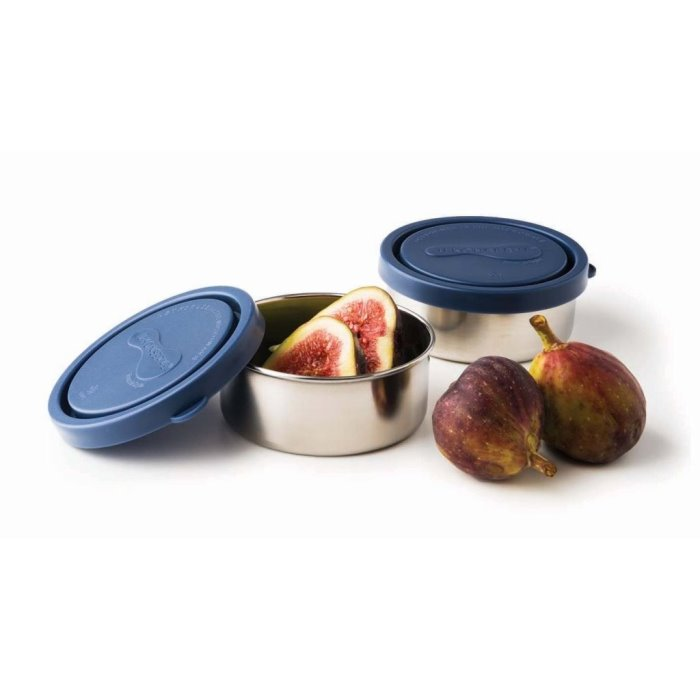 Small Round Containers - Ocean