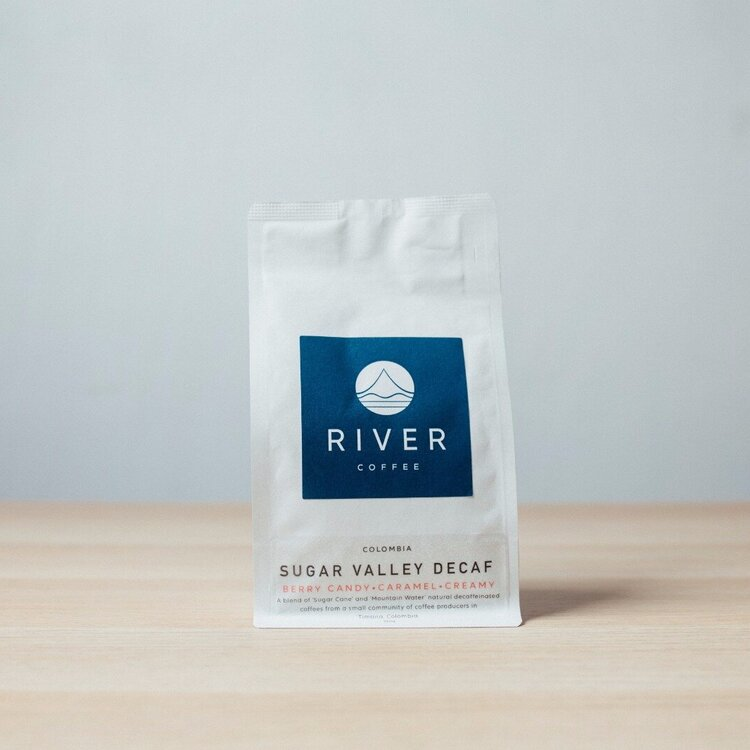 Sugar Valley Decaffeinated Coffee Beans | River Coffee