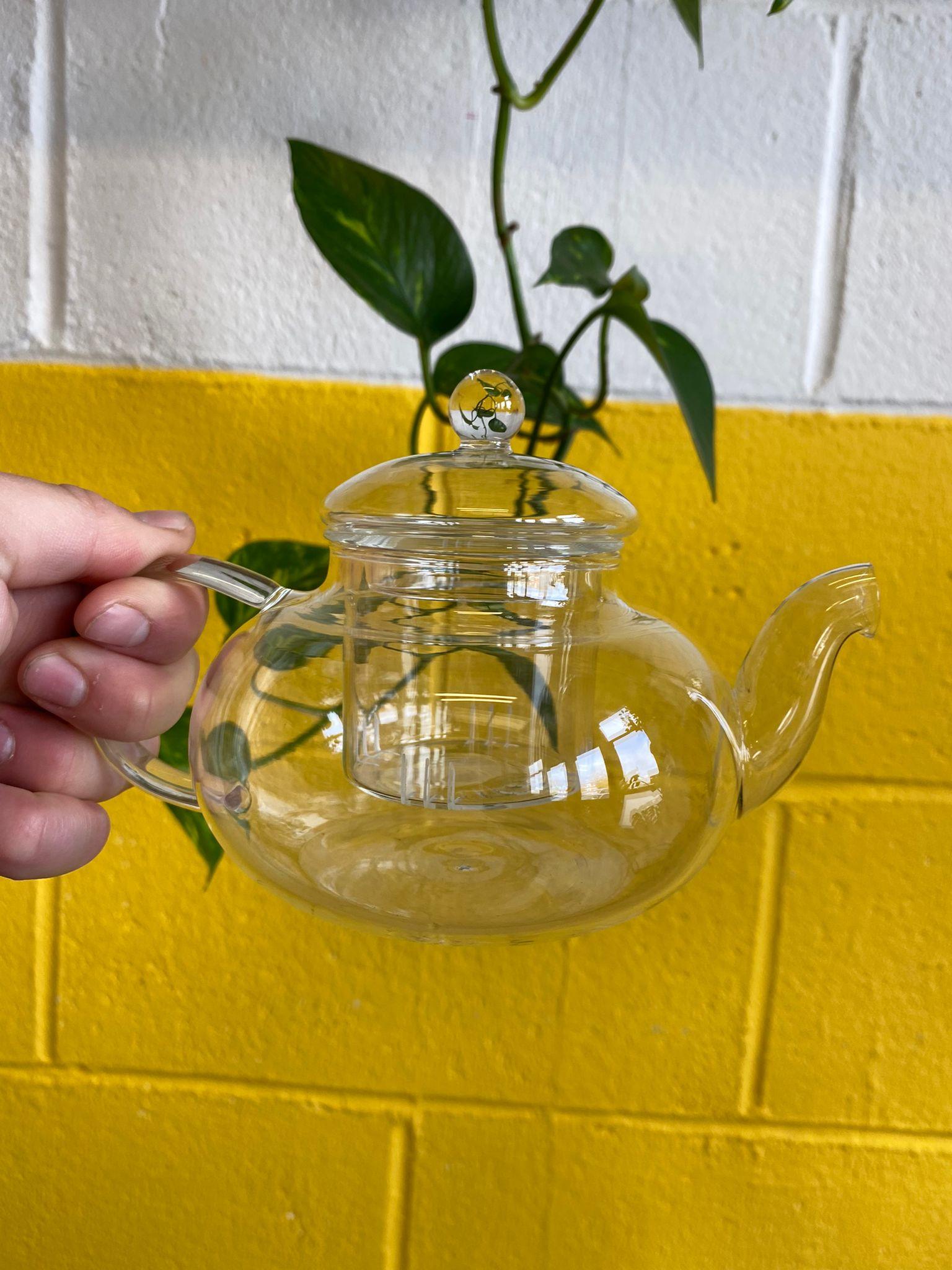 400ml Glass Tea Pot | Charbrew