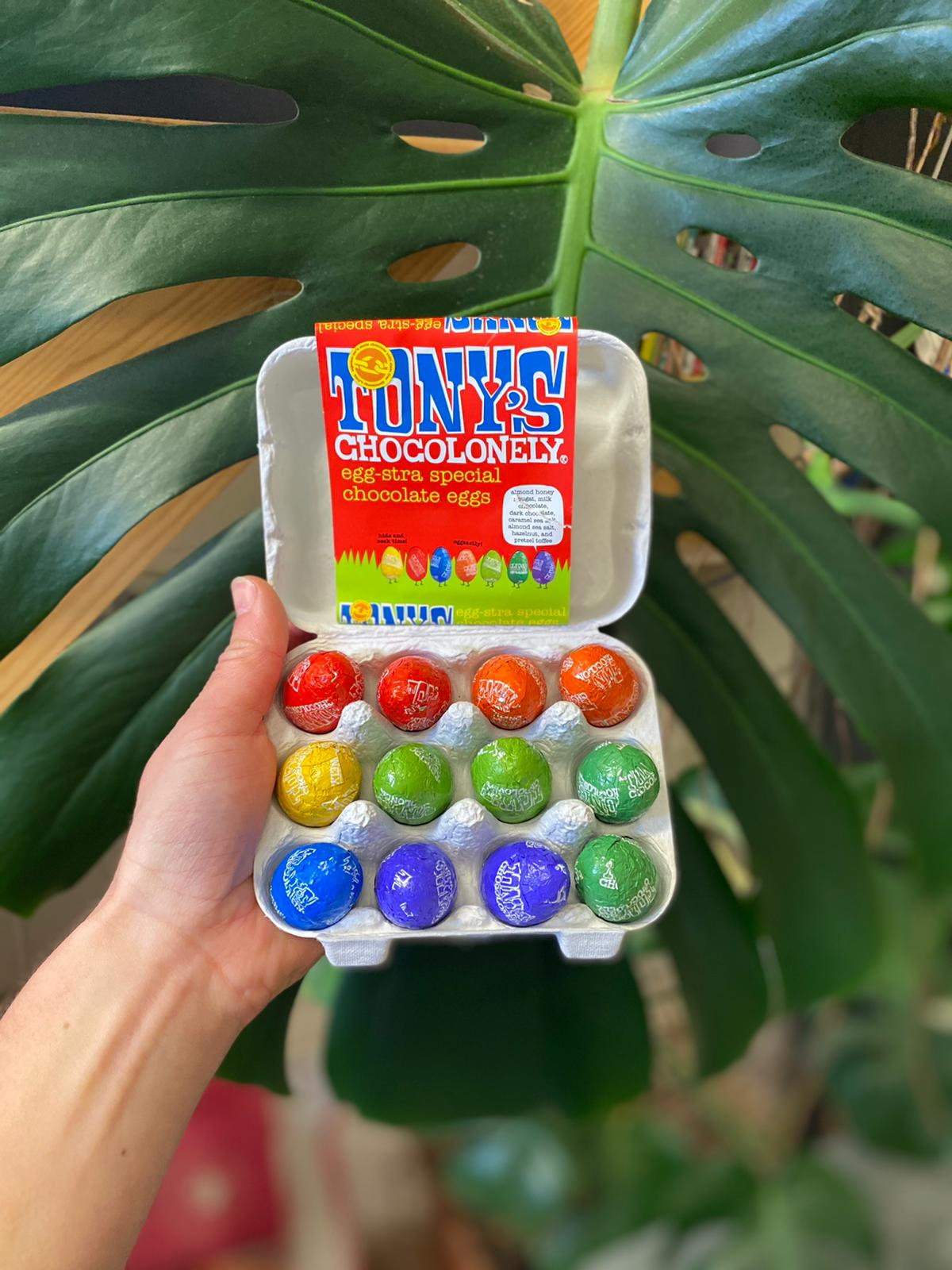 Egg-Stra Special Chocolate Eggs | Tony's Chocolonely