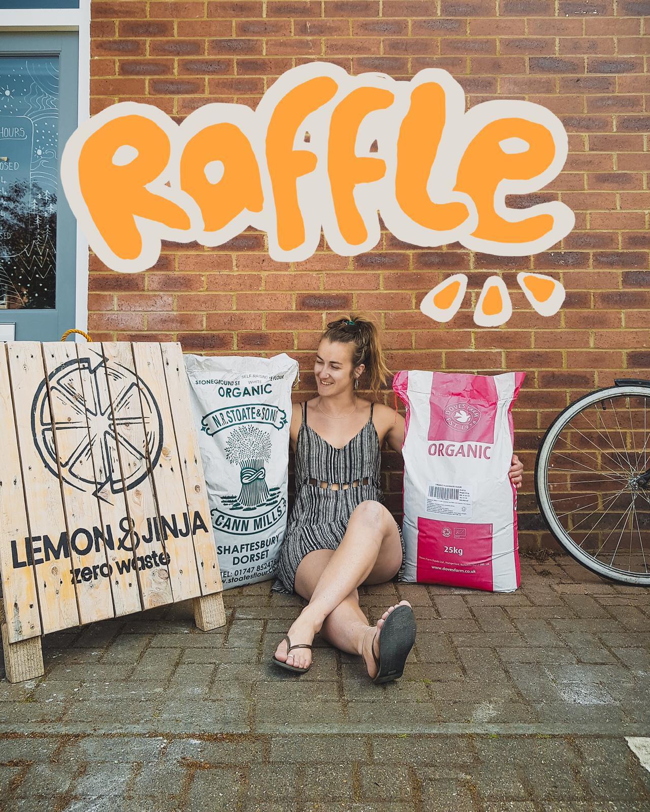 Charity Raffle: Plain Flour
