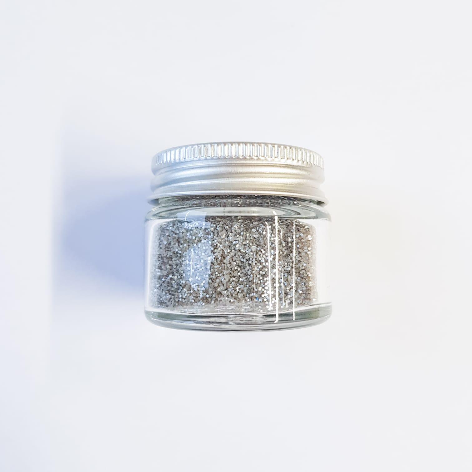 Silver Glitter | Lemon & Jinja