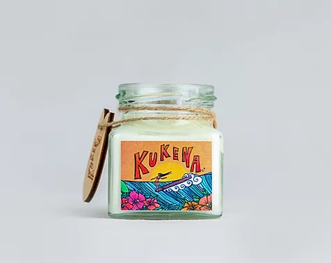 Soy Wax Candle in a Jar | Kukena