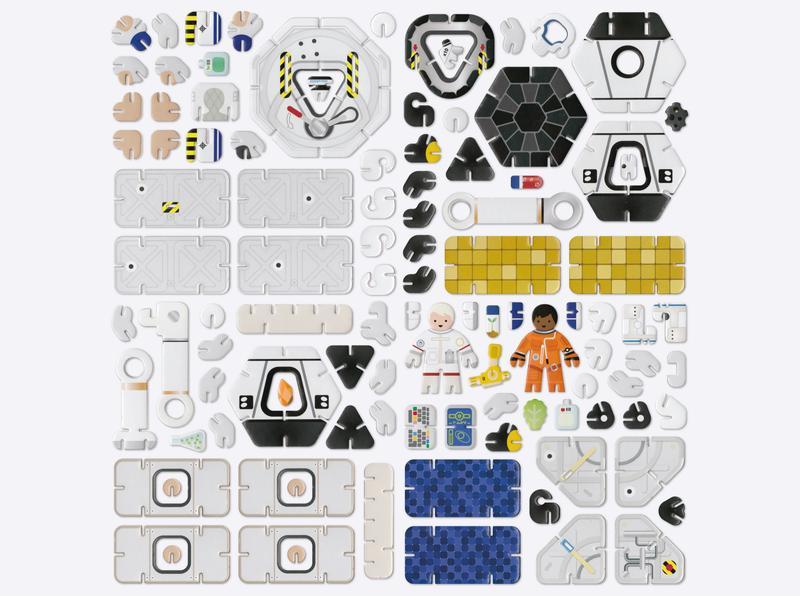 Space Station Set | Playpress