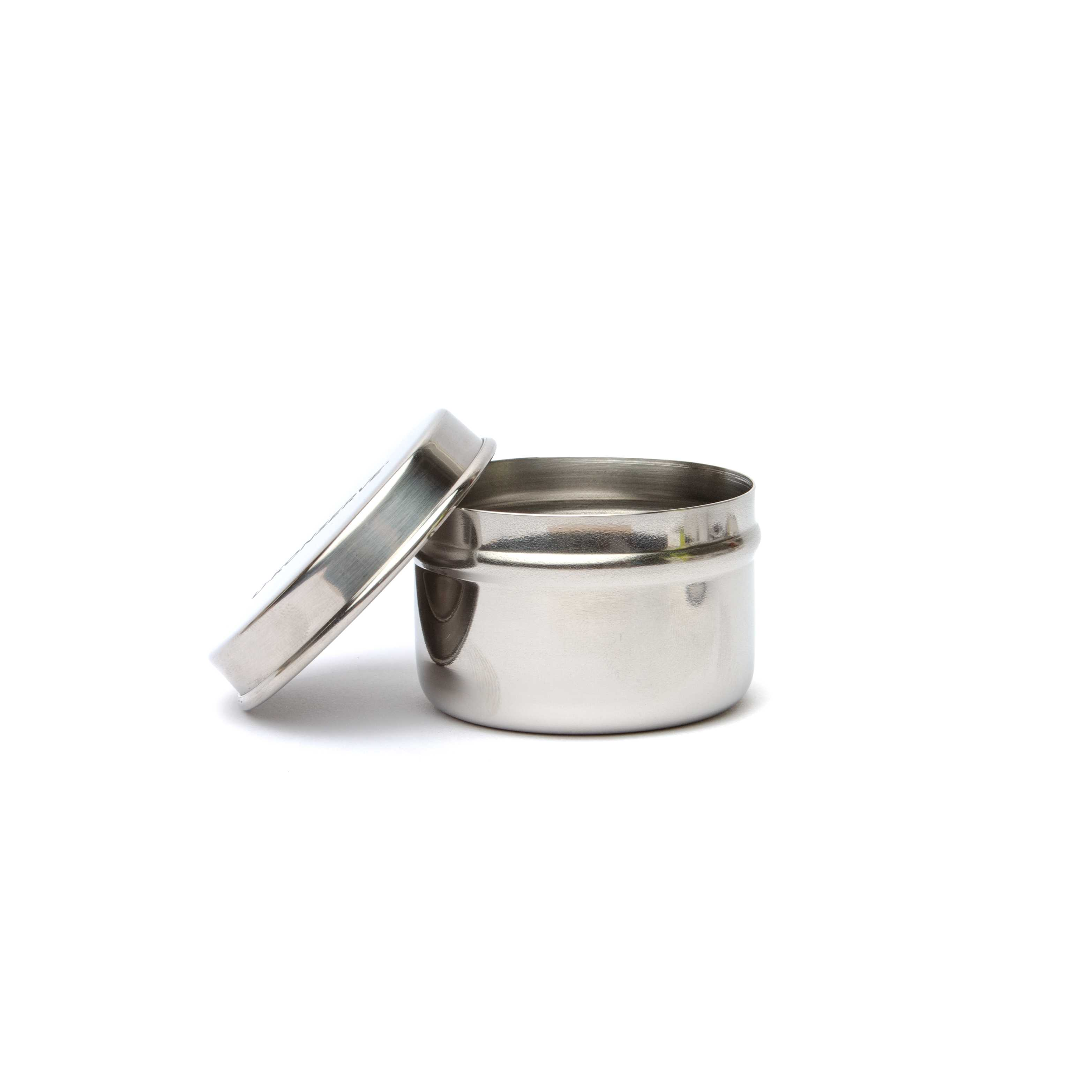 3 Mini Stainless Steel Containers